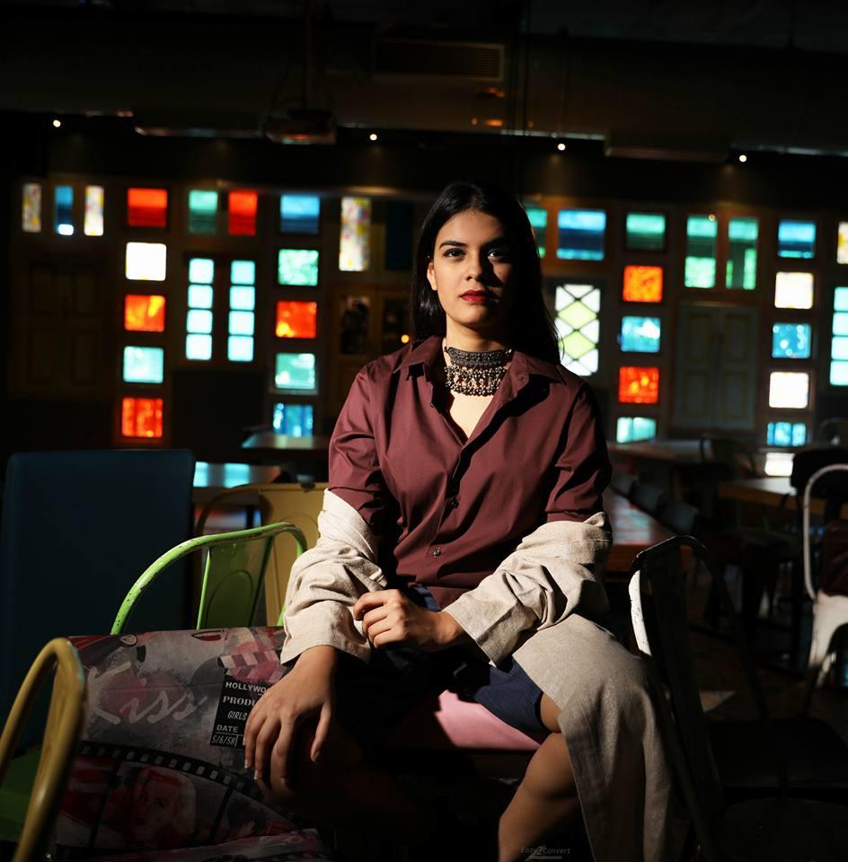 Ayushi Gupta, Photoshoot for a fashion brand.