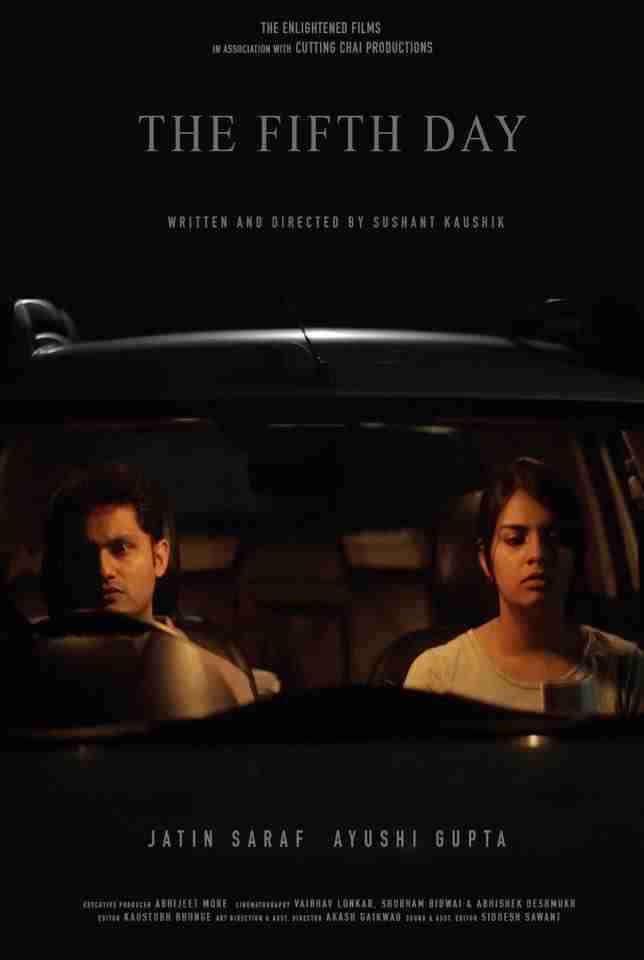 """Ayushi Gupta, Featuring in Short Film """"The Fifth Day""""."""