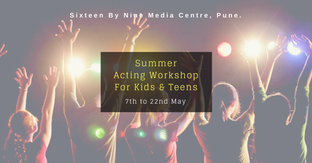Acting Workshops at Sixteen By Nine Media Centre.