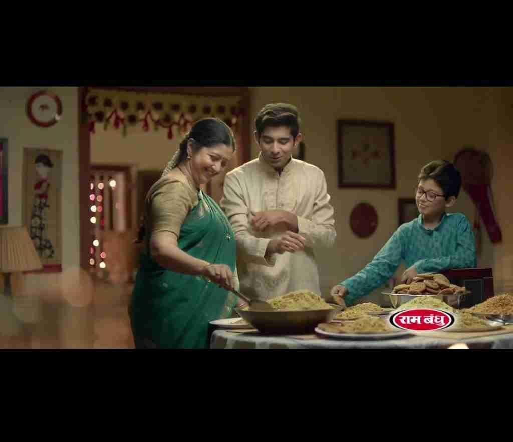 Ankit Saraf in Ram Bandhu TVC & Print Ads