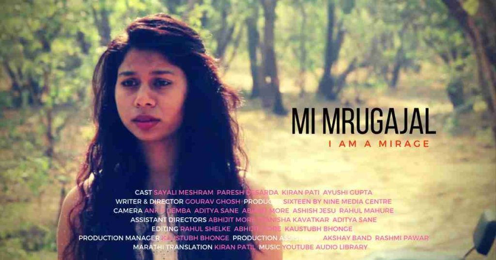Sayalee Meshram in Mi Mrugajala - A Webseries